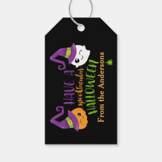 Spooktacular Halloween Party Personalized Favor Pack Of Gift Tags
