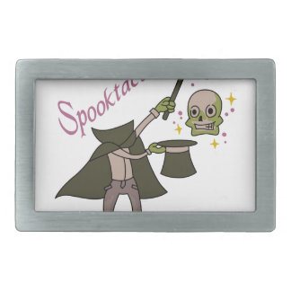Spooktacular Magic Belt Buckle