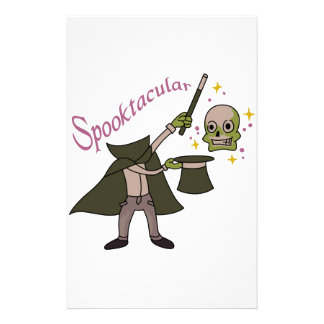 Spooktacular Magic Customized Stationery