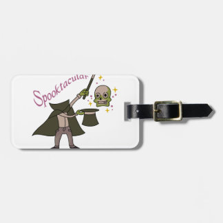 Spooktacular Magic Luggage Tag