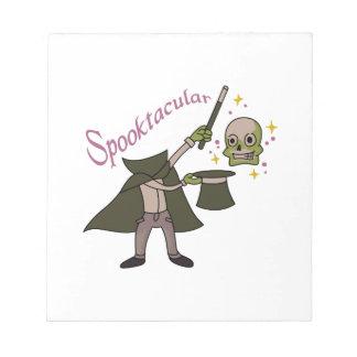 Spooktacular Magic Notepads