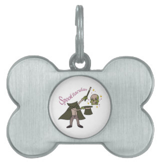 Spooktacular Magic Pet ID Tag