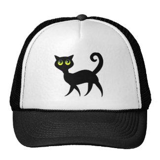 Spooky Black Cat Trucker Hat