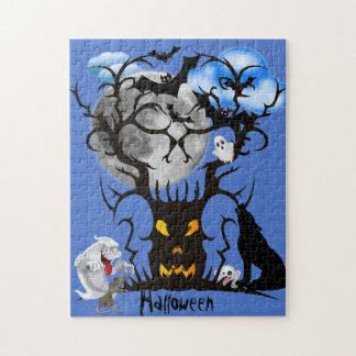 Spooky Blues Jigsaw Puzzle
