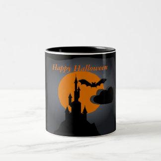 Spooky Castle Halloween Mug