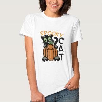 Spooky Cat Tee Shirt