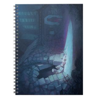 Spooky Christmas notebook