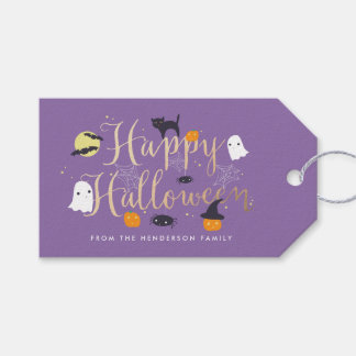 Spooky Critters Halloween Pack Of Gift Tags