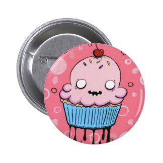 Spooky Cupcake 2 Inch Round Button