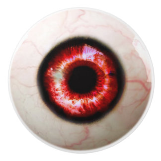 Spooky Eyeball Ceramic Knob