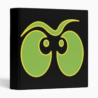 spooky eyes in the dark notebook 3 ring binders