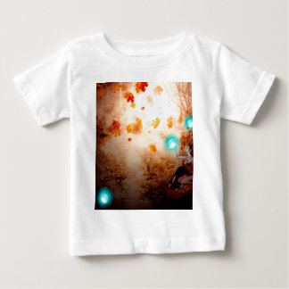 Spooky Forest and Fairy Baby T-Shirt