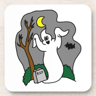 Spooky Ghost Coaster