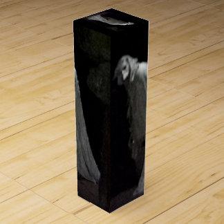 Spooky ghost & ghoul wine box