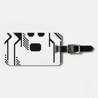 Spooky Ghost Luggage Tag
