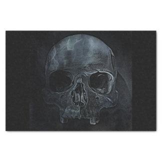 Spooky Gothic halloween skeleton bone Xray Skull Tissue Paper