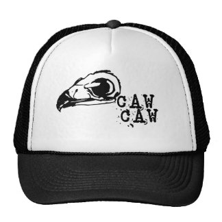 Spooky Halloween Crow Trucker Hats