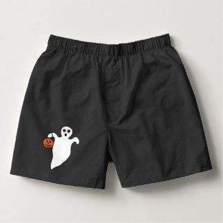 Spooky Halloween Ghost Boxers