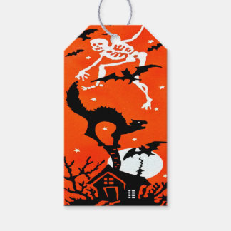 Spooky Halloween Gift Tag Pack Of Gift Tags