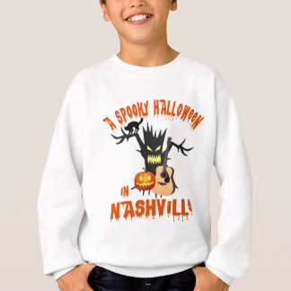 Spooky Halloween in Nashville Kid's Shirt