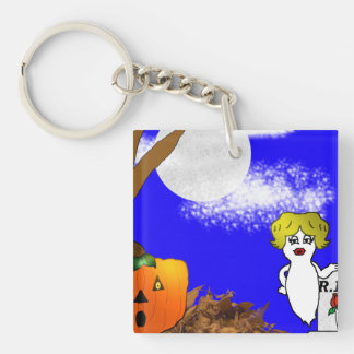 Spooky Halloween Keychain