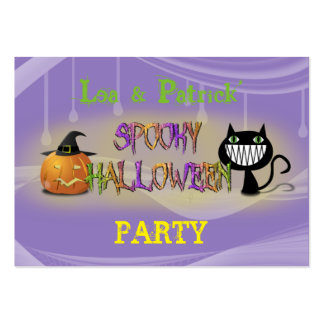spooky Halloween Large Business Card