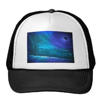Spooky Halloween Mesh Hat