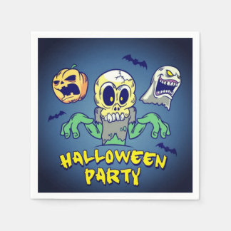 Spooky Halloween Party Napkin