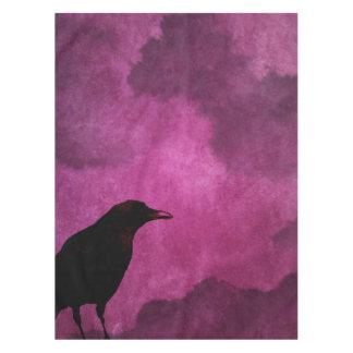 Spooky Halloween Raven Prints Tablecloth