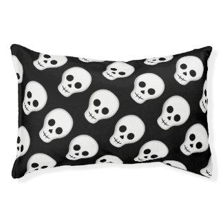 Spooky Halloween skull Pet Bed