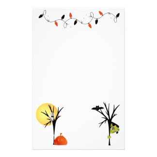 Spooky Halloween Stationery