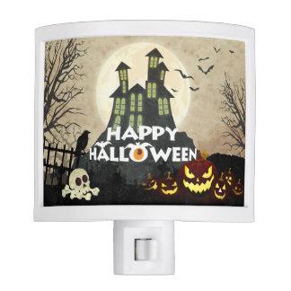 Spooky Haunted House Costume Night Sky Halloween Nite Lites