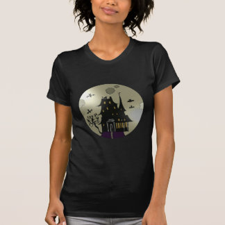 Spooky Haunted House T-Shirt