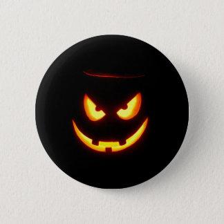 Spooky Jack O Lantern 2 Inch Round Button