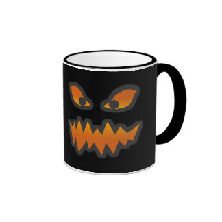 Spooky Jack-o-Lantern Face Mug