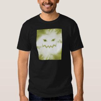 Spooky Jack O Lantern Face Wht Yellow Shirts