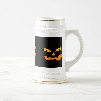 Spooky Jack O Lantern Halloween Pumpkin Face Mugs