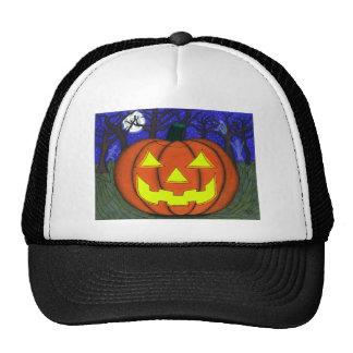Spooky Jack O' Lantern Hat