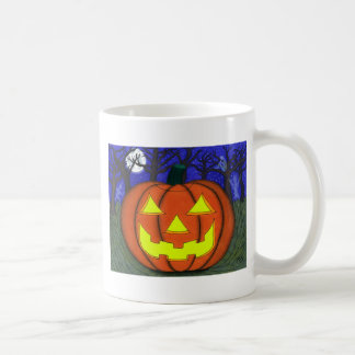 Spooky Jack O' Lantern Coffee Mugs