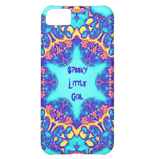 Spooky Little Girl Skulls iphone barely there case Cover For iPhone 5C