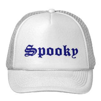 spooky logo hats