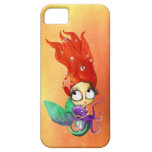 Spooky Mermaid with Octopus iPhone 5 Cover