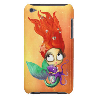 Spooky Mermaid with Octopus iPod Touch Case