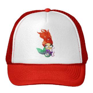 Spooky Mermaid with Octopus Trucker Hat