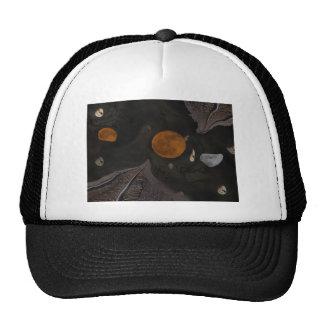Spooky Moon Abstract Trucker Hat