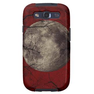 Spooky Moon Halloween Prints Galaxy SIII Case