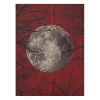 Spooky Moon Halloween Prints Tablecloth