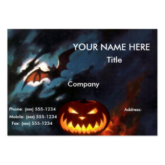SPOOKY NIGHT designs ~ Business Card Template
