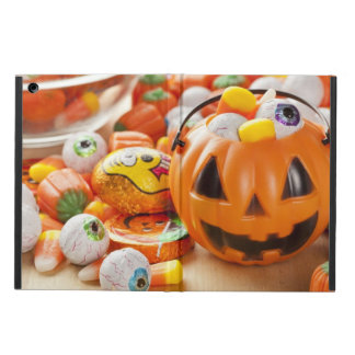Spooky Orange Halloween Candy iPad Air Cases