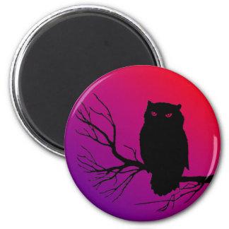 Spooky Owl Magnet